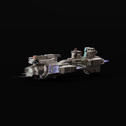 Thumbnail: Heavy Space Cruise Ship 2