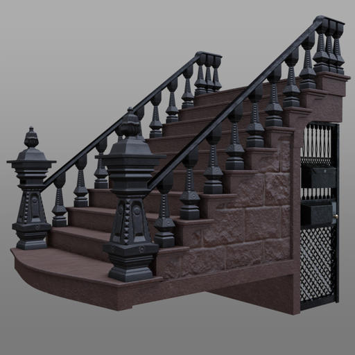 Thumbnail: Brownstone Stoop
