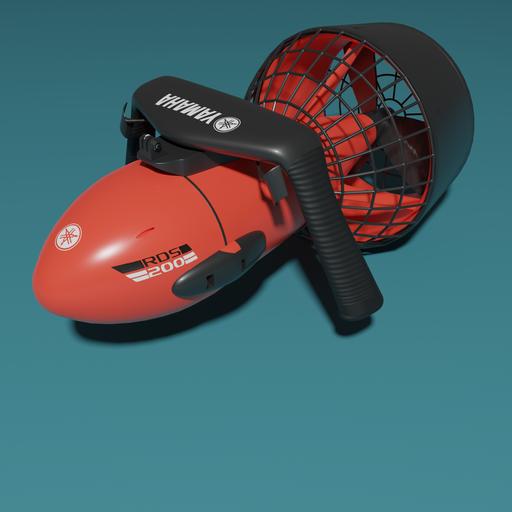 Thumbnail: Yamaha rds200 seascooter