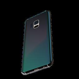 Thumbnail: Blue Diamond Phone shader