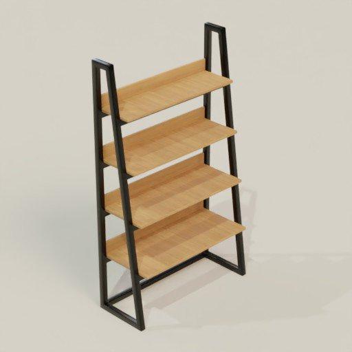 Thumbnail: Rack Shelving Bookcase 100 x 40 x 174