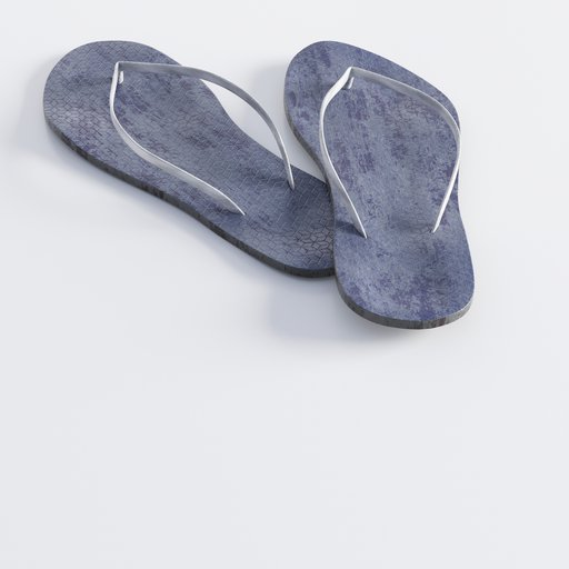 Thumbnail: Dirty bathing shoes or beach slippers
