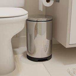 Thumbnail: Bathroom Trash Can