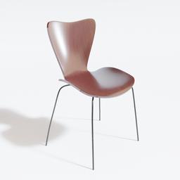 Thumbnail: Jacobsen Chair - Wood
