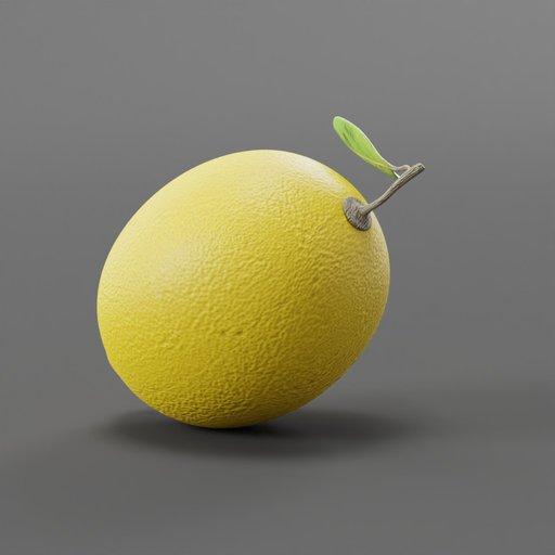Thumbnail: Lemon Citrus Fruit with Leaf