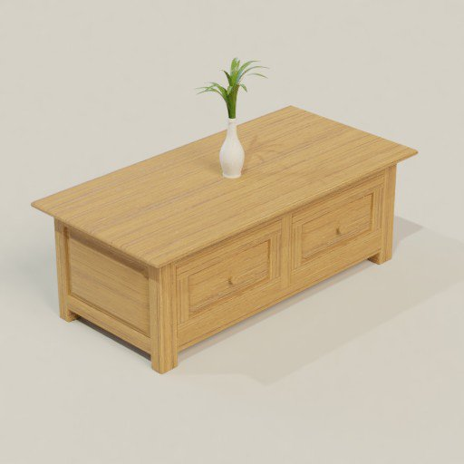 Thumbnail: Coffee Table 120 x 60 x 40