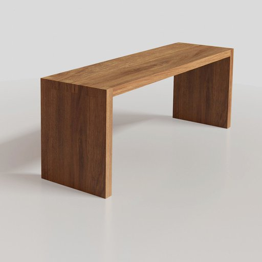 Thumbnail: Rustic wood desk