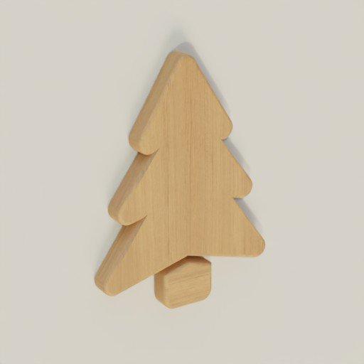 Thumbnail: Pine tree Wall Decor 22 x 30 x 2