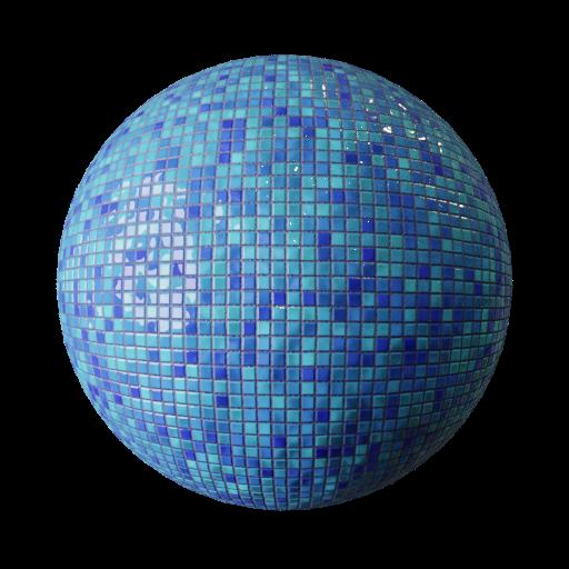 Thumbnail: Tiles small blue mixed