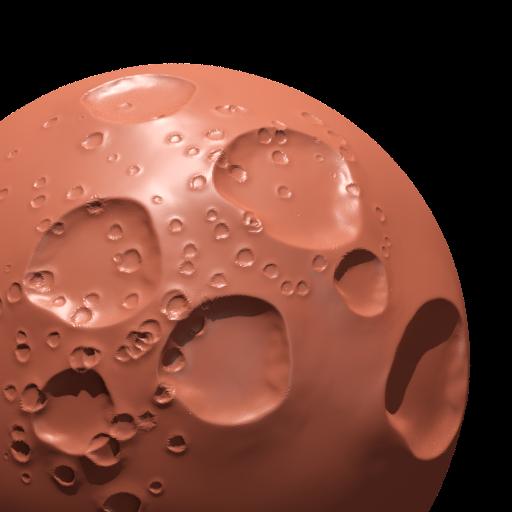 Thumbnail: moon crater