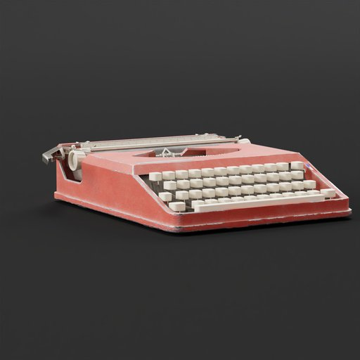 Hermes baby typewriter orange