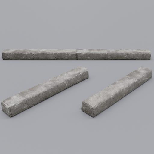 Thumbnail: Concrete Curbs Modular 001a
