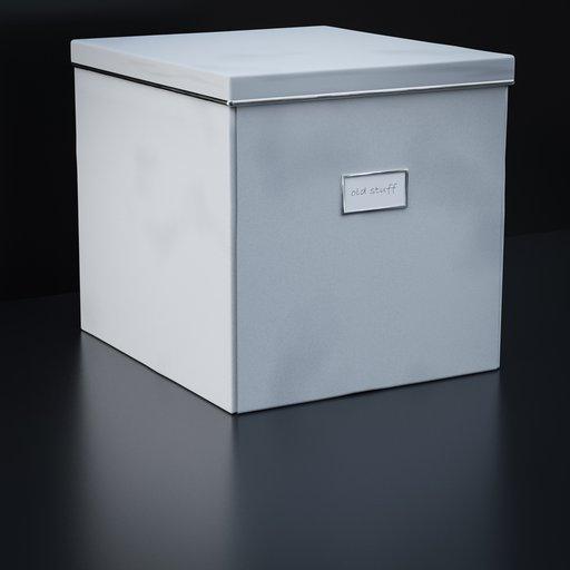 Thumbnail: White IKEA like storage box