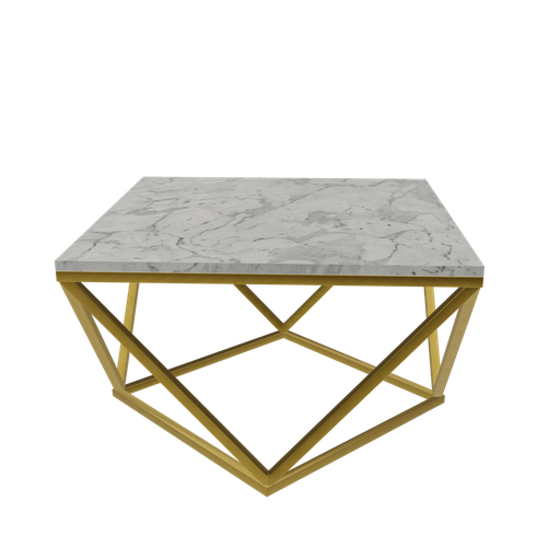 Thumbnail: Table center Gold and marble