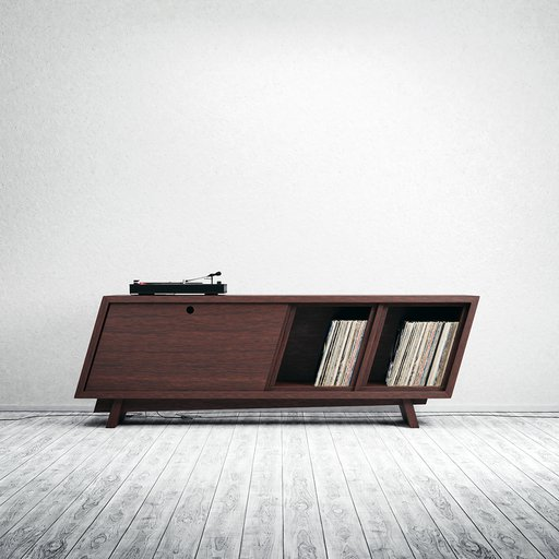 Thumbnail: Cabinet for Record Player
