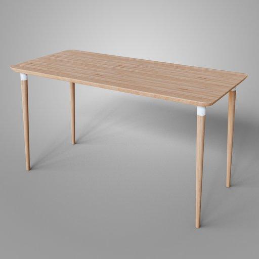 Ikea Anfallare Desk Hilver legs