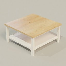 Thumbnail: Wooden Coffe Table