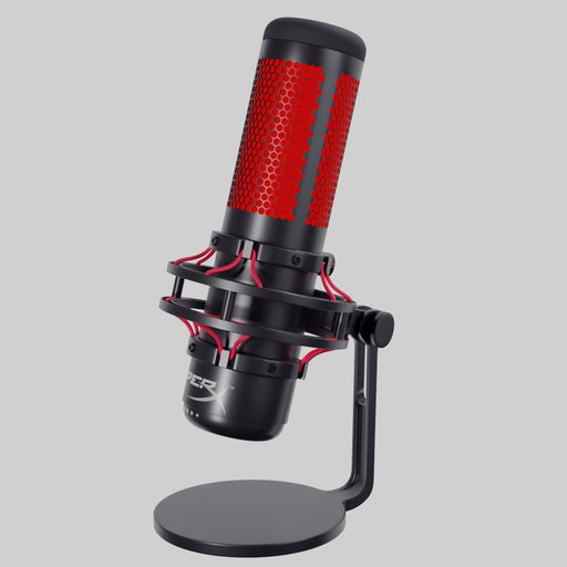 Thumbnail: HyperX QuadCast gaming microphone