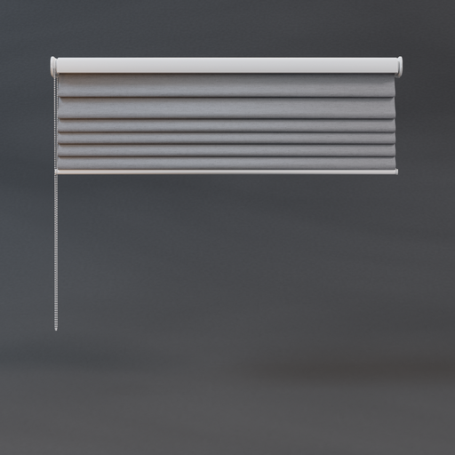 Roman blinds 03 quarter grey