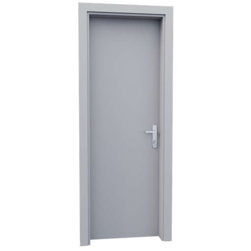 Thumbnail: Internal wooden door - Waite - 70 cm