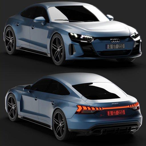Thumbnail: Audi e-Tron GT RS 2021