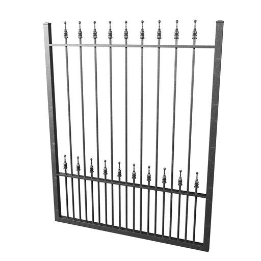 Thumbnail: Cast Iron Fence 03