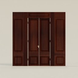 Thumbnail: Door Dark Wood