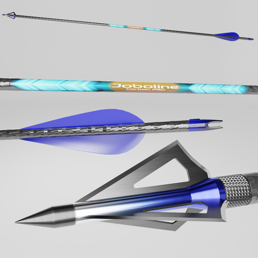 Carbon fiber hunting arrow Joboline