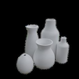 Thumbnail: Ceramic vase