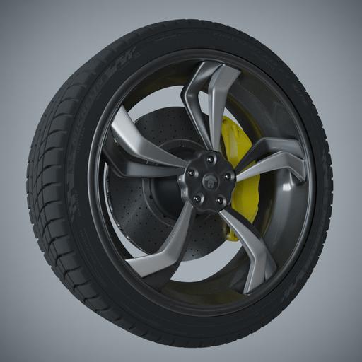 Thumbnail: Argos Wheel 5 Spokes PL
