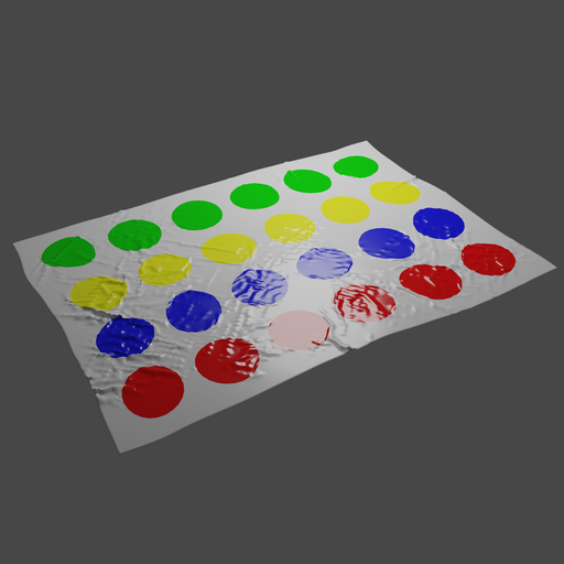 Thumbnail: Twister Game Mat