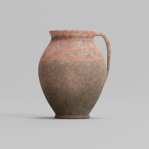 Thumbnail: Antique Terracotta Pot 24x25x30