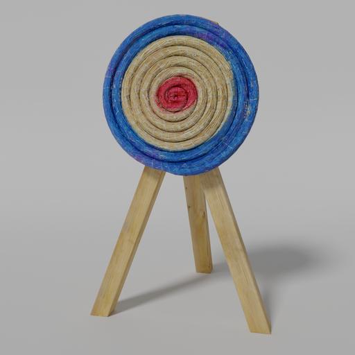 Archery straw target