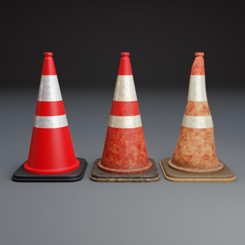 Thumbnail: Traffic Cones