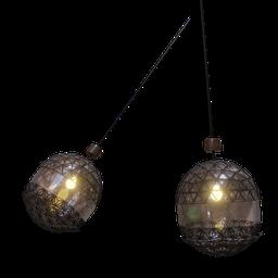 Thumbnail: Lamp with web