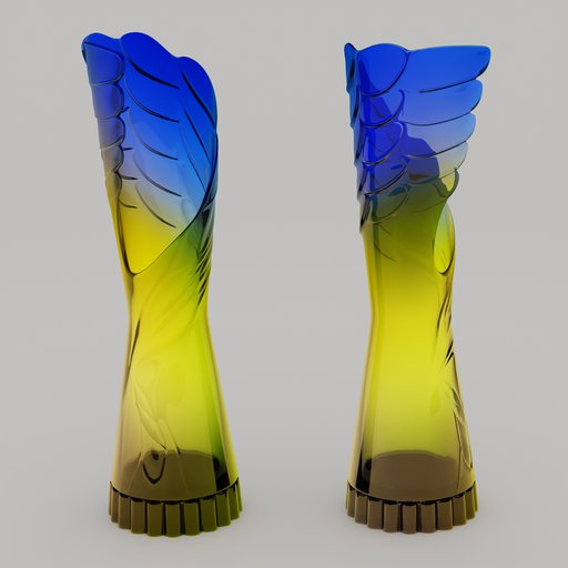 "Thumbnail: The vase ""Cristal Wing"""