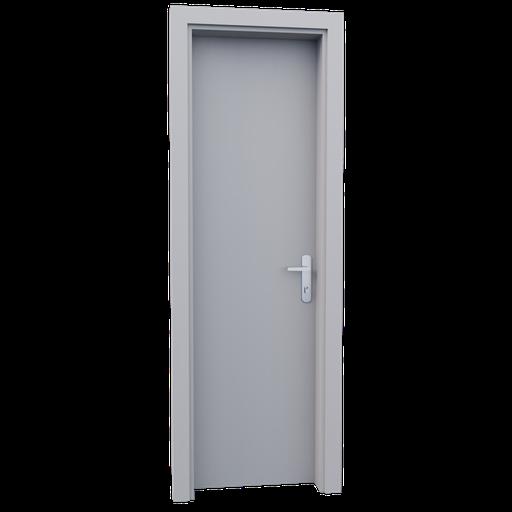 Thumbnail: Internal wooden door - Waite - 60 cm