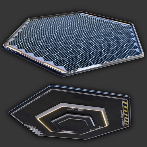 Thumbnail: Sci-Fi Solar Panel (single unit)