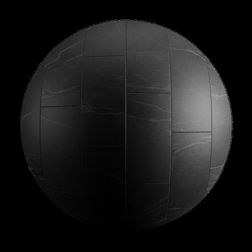 Thumbnail: Ceramic Black Tiles Strip