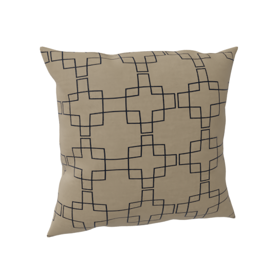 Thumbnail: Pattern cushion-D