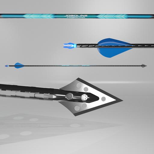 Carbon hunting arrow Joboline II