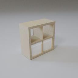 Thumbnail: Kallax storage unit