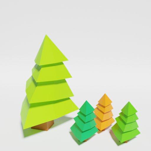 Thumbnail: Low Poly Pine