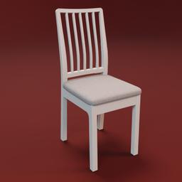 Thumbnail: IKEA EKEDALEN chair white
