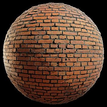 Thumbnail: Worn Classic Brick Wall