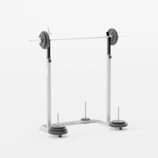 Thumbnail: Stand for a barbell