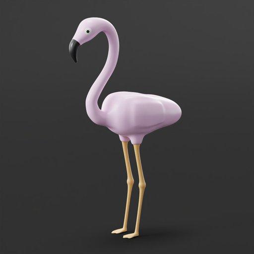Thumbnail: Pink Flamingo Lawn Decoration