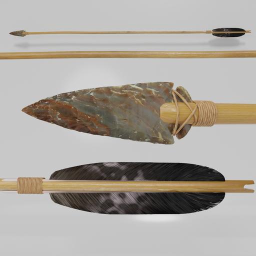 Stone Age Hunting Arrow I