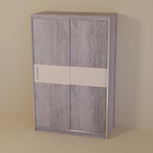 Thumbnail: Light wood dresser