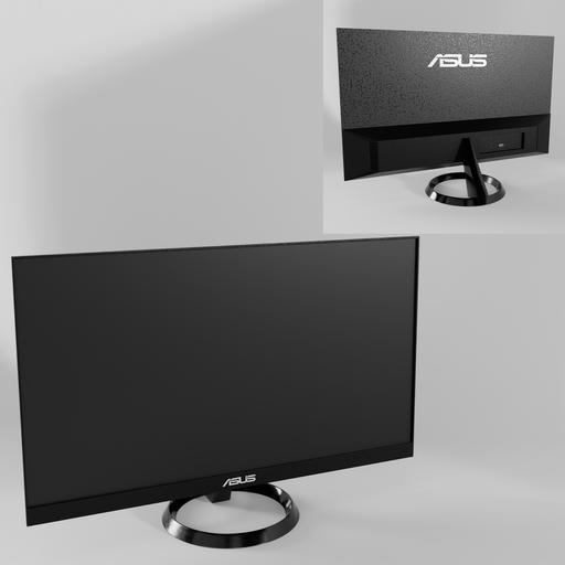 Thumbnail: Black ASUS VZ249HE-W LED monitor